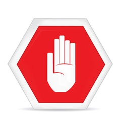 Caution sign vector