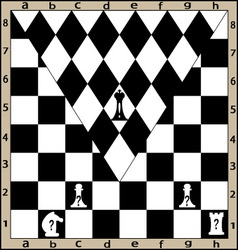 chess strike vector image