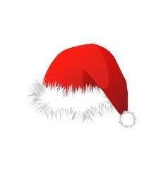 Christmas Santa Claus cap vector image