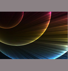 circle digital explode abstract background vector image