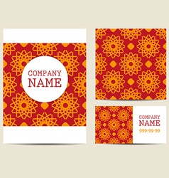 Corporate Business Set Brochure Design Templates vector image