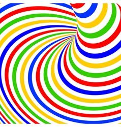 Design colorful vortex movement background vector