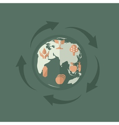 environmental product vector image