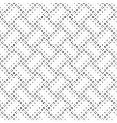 Geometrical black and white abstract ring pattern vector
