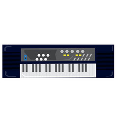 Isolated geometric keyboard toy vector