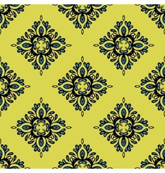 Seamless tiled pattern design vector image vector image