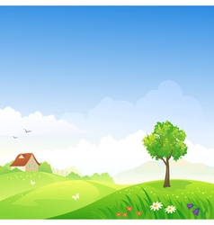 Spring day vector image