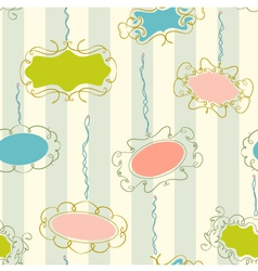 Photo Frames Seamless Pattern vector image