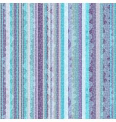 Striped blue-violet zigzag pattern vector image vector image