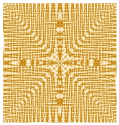 Abstract seamless geometric pattern gold texture vector image