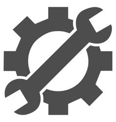 Developer Tools Flat Icon vector image vector image
