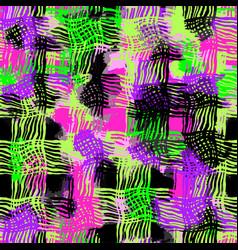 Shabby grunge textiles seamless pattern vector