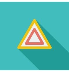 Hazard vector image