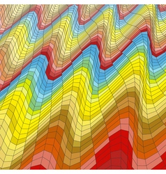 Mosaic Abstract Background Polygonal vector image vector image