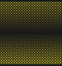 abstract halftone geometric circle and square vector image