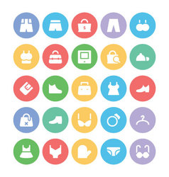Clothes Icons 13 vector