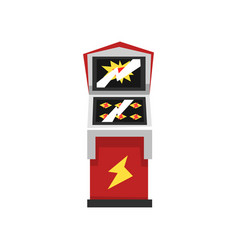 Electronic slot virtual game machine vector