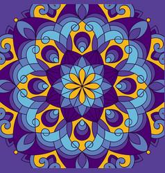 ethnic background vector image