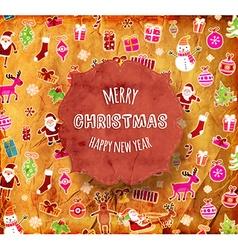 Retro Christmas Design vector