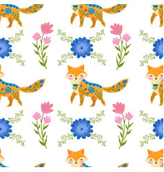 Seamless pattern colorful vector