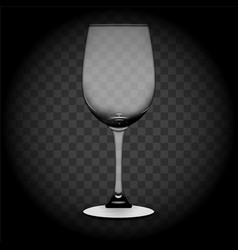 set plates wine glasses and wine vector image