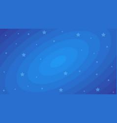 stars on dark blue cosmic backdrop flat vector image