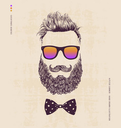 hipster summer vector image vector image