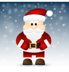 Santa Claus isolated on a white background vector image vector image