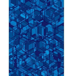Abstract blue seamless background vector