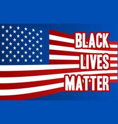 Black lives matter text vintage template banner vector