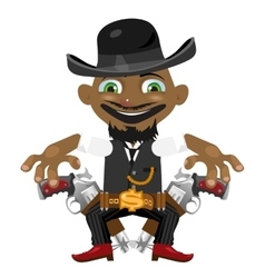 Black man cartoon fictional character vector