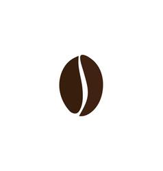 coffee bean icon vector image