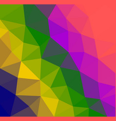 colorful triangular abstract background texture vector image