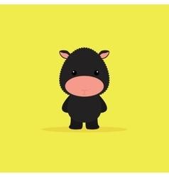 Cute Cartoon sheep vector