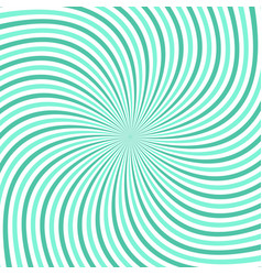 geometrical spiral background vector image