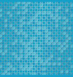 girih pattern beautiful arabic design template vector image