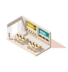 isometric gadget shop vector image