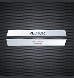 modern metal background vector image