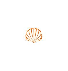 shell logo vector image
