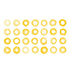 sun icons set sunny summer logo template vector image