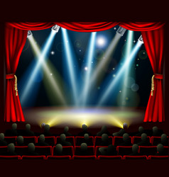 start of amazing entertainment event vector image