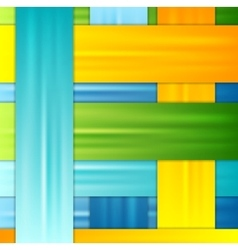Abstract corporate colorful stripes background vector image