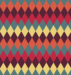 Circus seamless background Contrast dark rhombus vector image