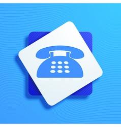 phone vector image