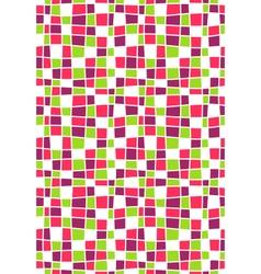 Seamless Bright Abstract Mosaic Pattern vector image