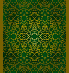 abstract arabic pattern vector image vector image