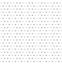 Gray striped heart pattern seamless background vector