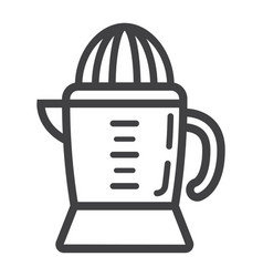 han juicer line icon household and appliance vector image