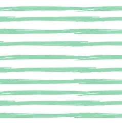 Hand drawn ink textured seamless striped vector image