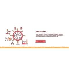 Management Concept Poster vector
